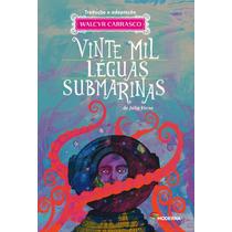 Livro Vinte Mil Leguas Submarinas - Moderna - Carrasco, Walc