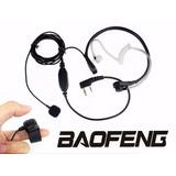 Fone Laringofone Para Rádio Ht Baofeng Voyager Entre Outros