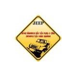 Compre 1 Leve 5 Adesivo - Off Road Jipeiros Vão Onde Querem