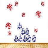 Adesivo Decorativo Kits Natal (45x62)cm - Frete Gratis