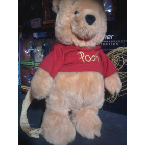 Peluche Mochila Winnie The Pooh Walt Disney Bolsa Morral