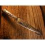 Cuchillo La Movediza Plata Oro