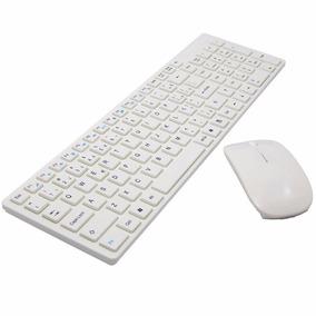 Teclado + Mouse S/fio 3200 Dpi Wireless 2.4 Ghz Frete Grátis