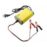 Cargador De Bateria Portatil Auto Moto 12v Ac-220v - Te305