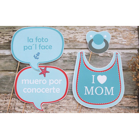 Props Photobooth Baby Shower - Nacimiento
