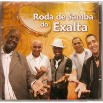 Cd Exaltasamba - Roda De Samba Do Exalta - Novo***