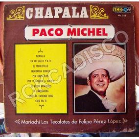 Bolero, Paco Michel, Chapala, Lp 12´,