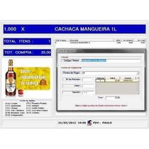 Sistema Pdv Controle De Estoque Com Frente Caixa, Loja