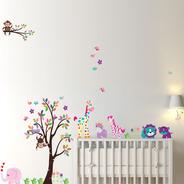 Adesivo De Parede Infantil Para Quarto De Bebe Várias Opções