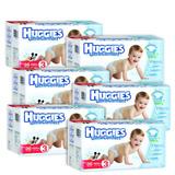 Caja De Huggies Ultraconfort E3 Niño 6 Paquetes - 216 P...