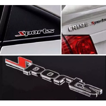 Emblema Chevrolet Sports Cruze Sonic Captiva