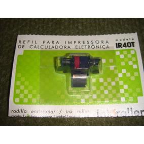 Fita Rolete Tinteiro Ir-40t Sharp 1750 1801 Casio