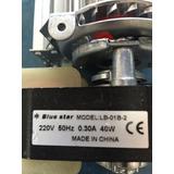 Motor Forzador Turbina Tangencial 24 Cm Heladera Exhibidora