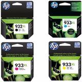 Pack 4 Tinta Alto Rendimiento Hp Original 932xl 933xl Ncmy