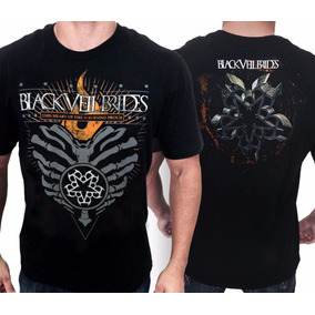 Camiseta Black Veil Brides E1026 Consulado Do Rock Camisa