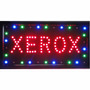 Letreiro Luminoso Painel Xerox Led Placa Quadro 110v