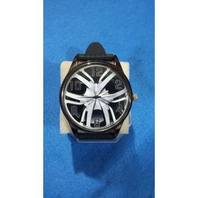 Relógio De Pulso Personalizado Roda Esportiva Tuning Multima