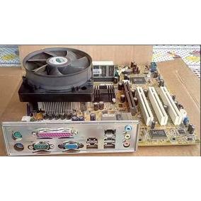 Placa Mãe Asus P5s800-vm + Processador P4 3.0 + 1gb Mem