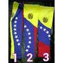 Mangas Deportivas Con Bandera De Venezuela
