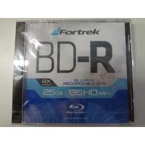 Midia Blu-ray Bd-r Fortrek 25gb 135hd Min 4x - 10 Unidades