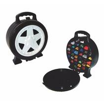 Maleta Para 36 Carrinhos Roda Estilo Hot Wheels Super Garage