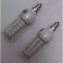 Lâmpada Led 64 Smd 5730 Branco E12 10w 110v 1 Unidade
