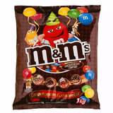Chocolate M&m 1 Kg -pronta Entrega - 4 Pacotes