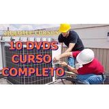 Curso Instalação Manutenção De Ar Condicionado Split 9 Dvds