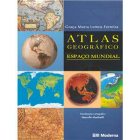 Livro Atlas Geográfico- Espaço Mundial 2ª Edição