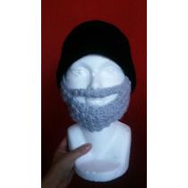 Gorro A Crochet Barba