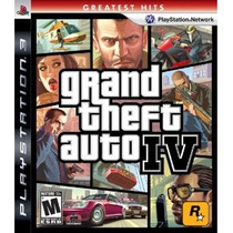 Ps3 - Grand Theft Auto Iv - Nuevo Y Sellado - Ag