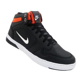 Tênis Nike Force Sky Preto E Laranja