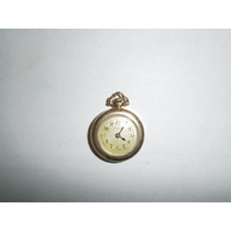 Reloj Vintage Bristol Chapa Oro Mujer Pendiente O Bolsillo
