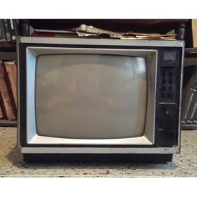 Antiguo Televisor De 14 Pulgadas