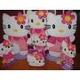 Hermosas Figuras De Hello Kitty En Anime