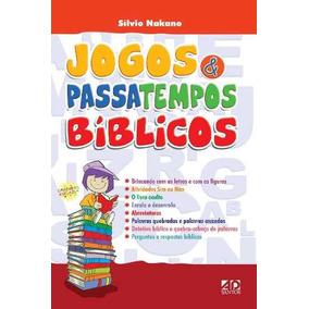 Livro Jogos E Passatempos Bíblicos - Silvio Nakano