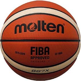 Pelota Basket Molten Gg7x Oficial Lnb Fiba Gg7 Basquet Nro.7