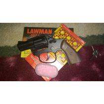 Rambo Lawman Arma Marrom 02 Cartela Espoletas E 100 Bbs