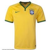 Camisa Franela Mundial 2014 Colombia Brasil España