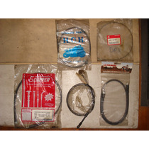 Kit Cable De Freno Trasero Y Delantero Zanella Sol 50