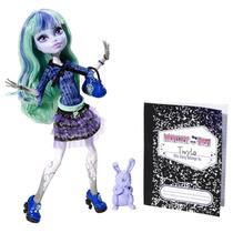 Monster High 13 Wishes Twyla & Pet Dustin - Mattel