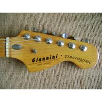 Guitarra Giannini Stratosonic - Decal Do Headstock