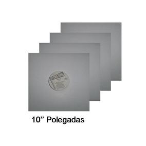 Capas Discos De Vinil 78 Rpm - Branca - 10 Unidades