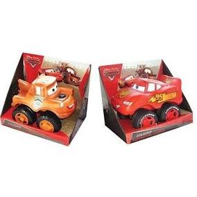 Brinquedos Carros Mcqueen + Mate Fofomovel Disney Lider