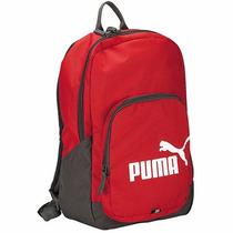 Mochila Puma Phase Backpack 073589-10 Rojo-gris Pv