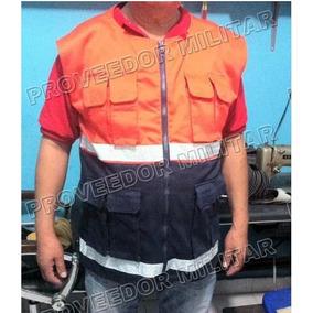 Chaleco Paramedico Rescatista Proteccion Civil