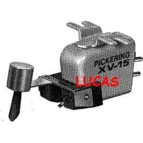 Agulha Pickering D400 E , Original -da X V15 - Caixa Cubo