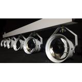 Vara Eletrica 6 Tx Led Refletores Pim Bim Luz Branco Quente