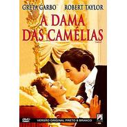 A Dama Das Camélias - Dvd - Greta Garbo - Robert Taylor