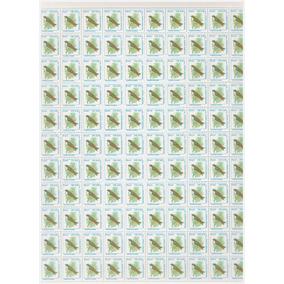 Folha C/110 Selos Rhm R-700 Pássaros Urbanos Andorinha 1994